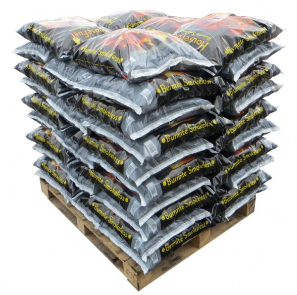 Housefuel Burnrite Smokeless Fuel - 50 x 20kg Bags (Full Pallet)