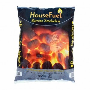 Burnrite Smokeless Fuel - 20kg bag - available to add on to Log Orders or Collection for £7.50