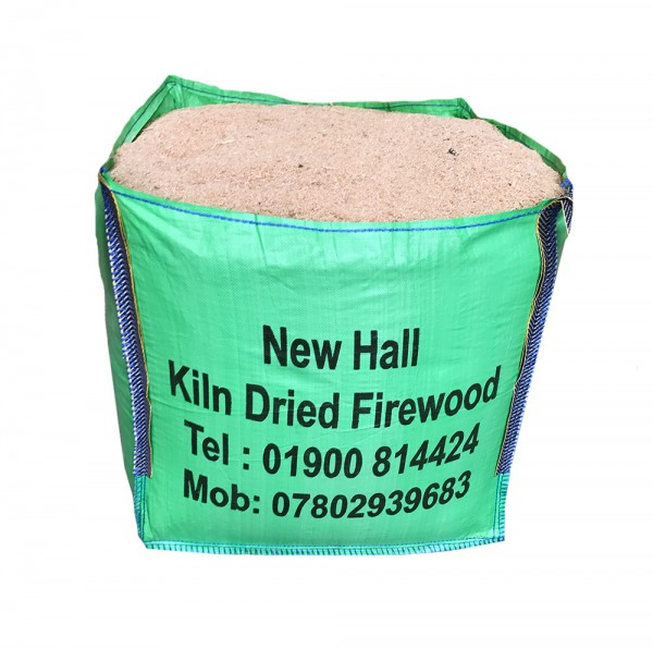 X - Large Bulk Bag Kiln Dried Sawdust - Bag dimensions 85 cm x 85 cm