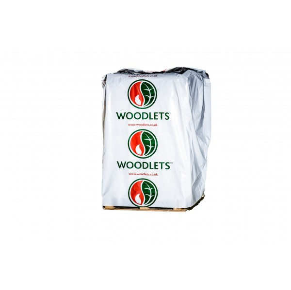 Woodlet Wood Pellets - 98 x 10 kg bags (980 kg) - BSL0394551-0002