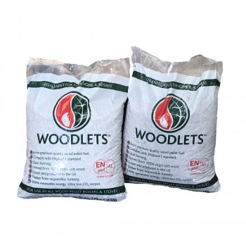 Woodlet Wood Pellets - 10kg bags - Available for Collection Only  - BSL0394551-0002