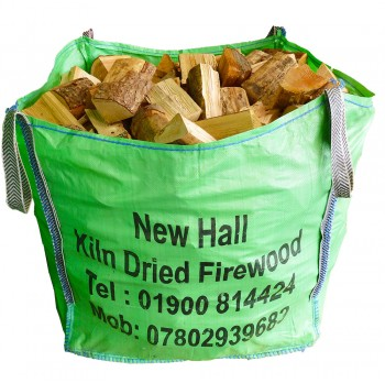 Large Bulk Bag - Kiln Dried Softwood - Bulk bag dimensions 85 cm x 85 cm x 85 cm