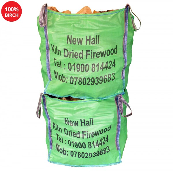 2 x Large Bulk bags - 100% Birch - Combo Deal - BSL 0034348-001