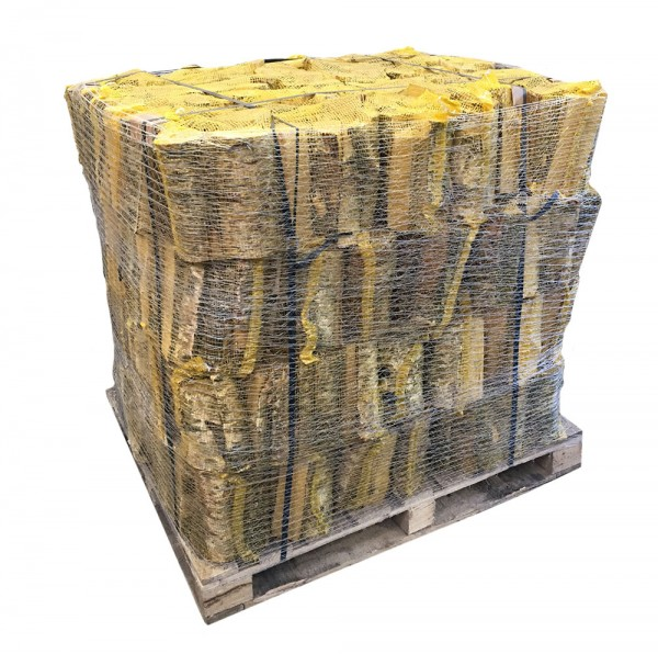 Kiln Dried Firewood Log Nets - 100% Birch - 56 x Nets