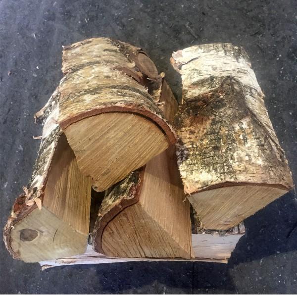 Birch log nets
